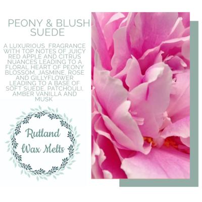 Peony & Blush Suede