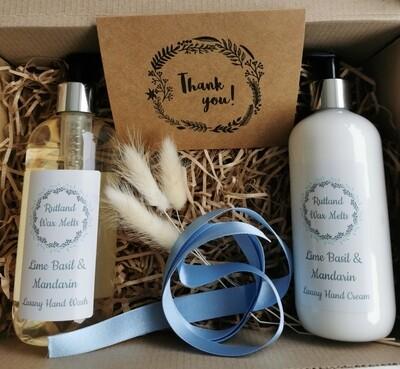 Luxury Hand Wash & Cream Gift Set