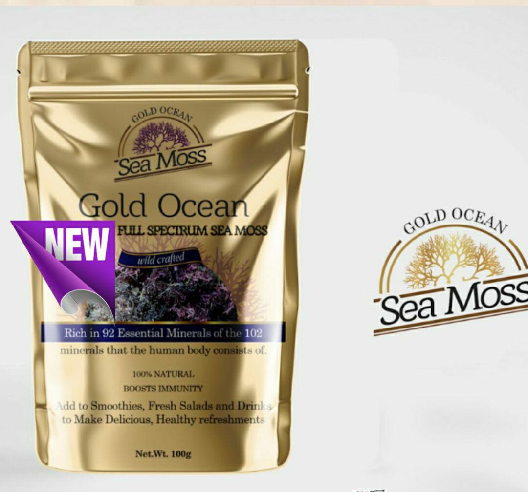 St Lucian Full Spectrum Sea Moss 100g