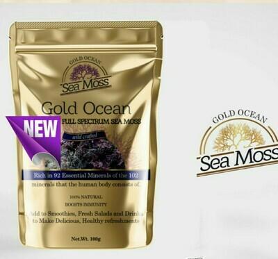 St Lucia Full Spectrum Sea Moss 1kg  unbranded packaging
