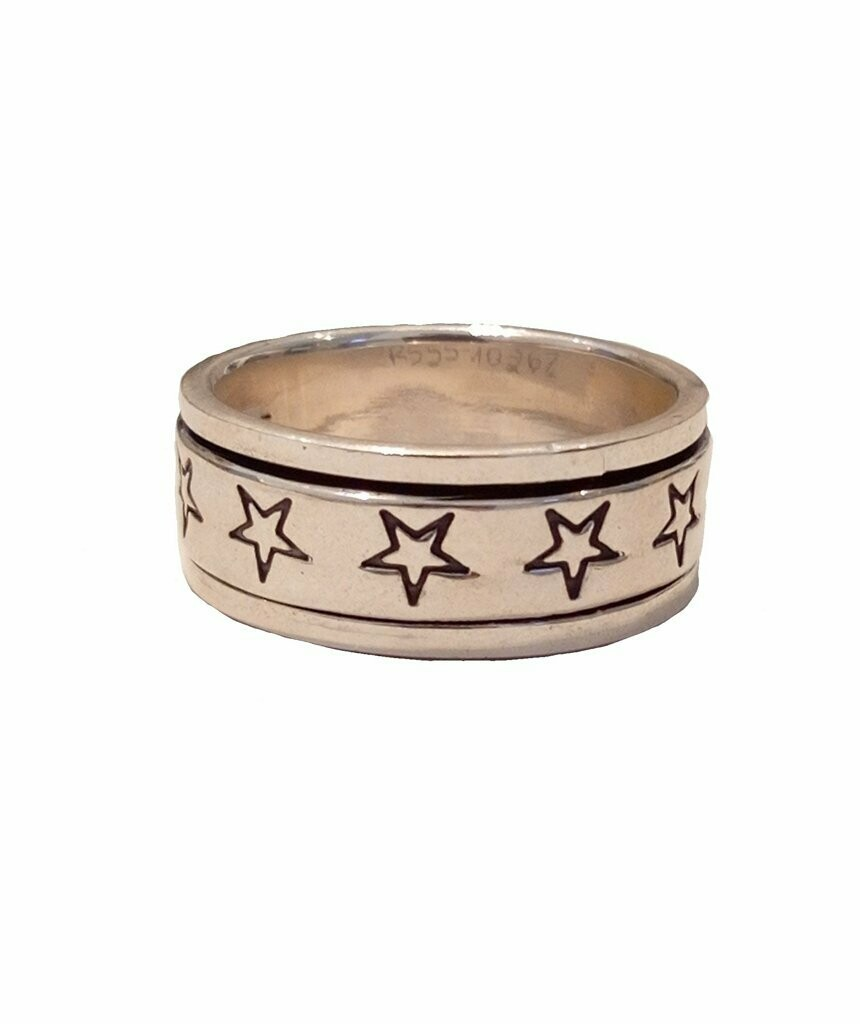 Premium Silver Stars Ring