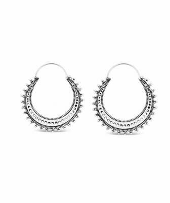 Bright Sun Hoop Earrings