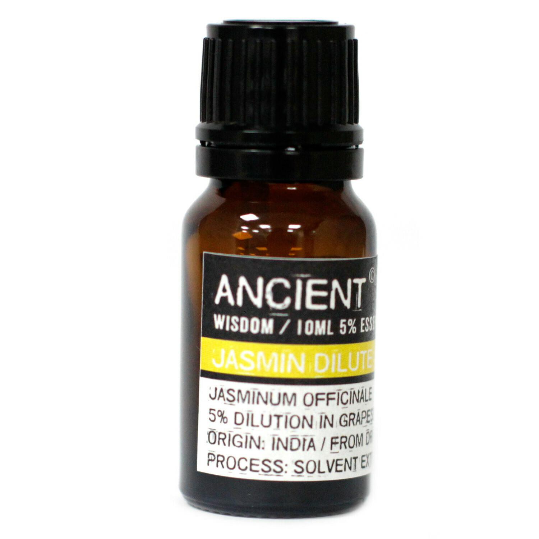 10 ml Jasmine Dilute Essential Oil
