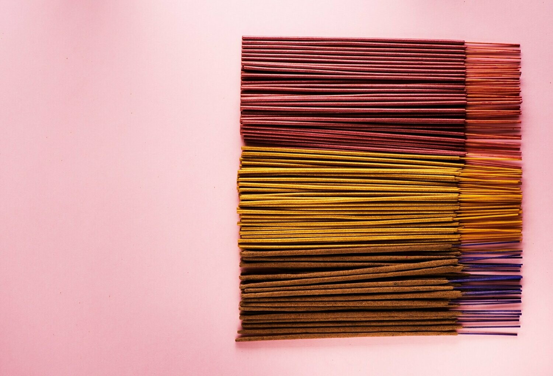 AECULAPIUS (Garden Flowers) Incense REFILL 15 Sticks