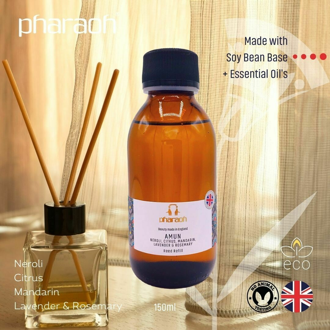 SPA Essentials Amun Diffuser Refill 150ml (Neroli Sweet Orange oil