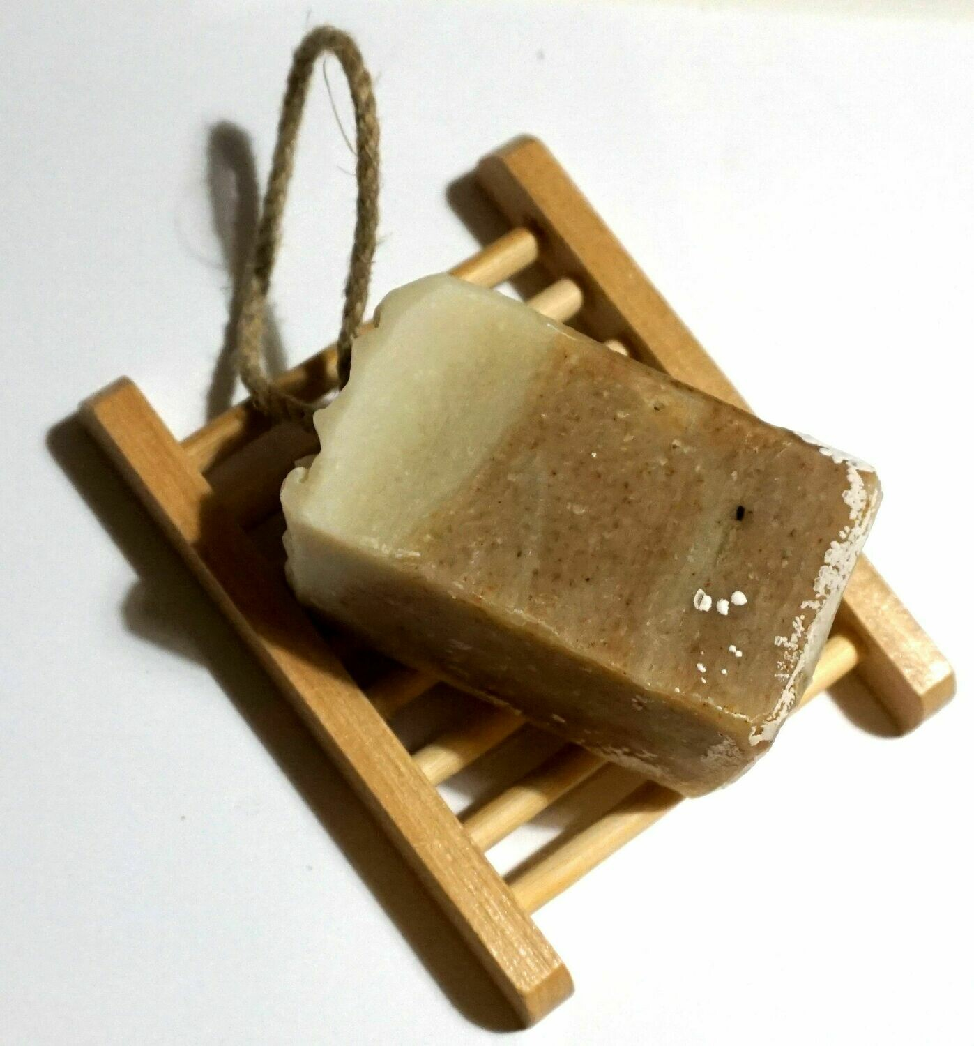 Matcha Mysteries Soap on a rope