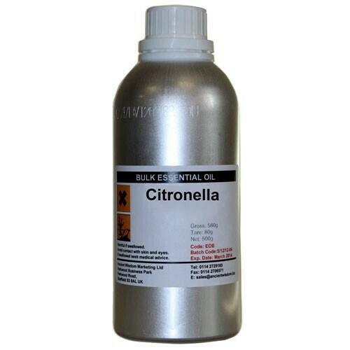 Citronella oil 0.5Kg