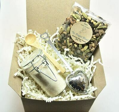 Chai Tea & Ginger Sugar Gift Set, Tea Lover