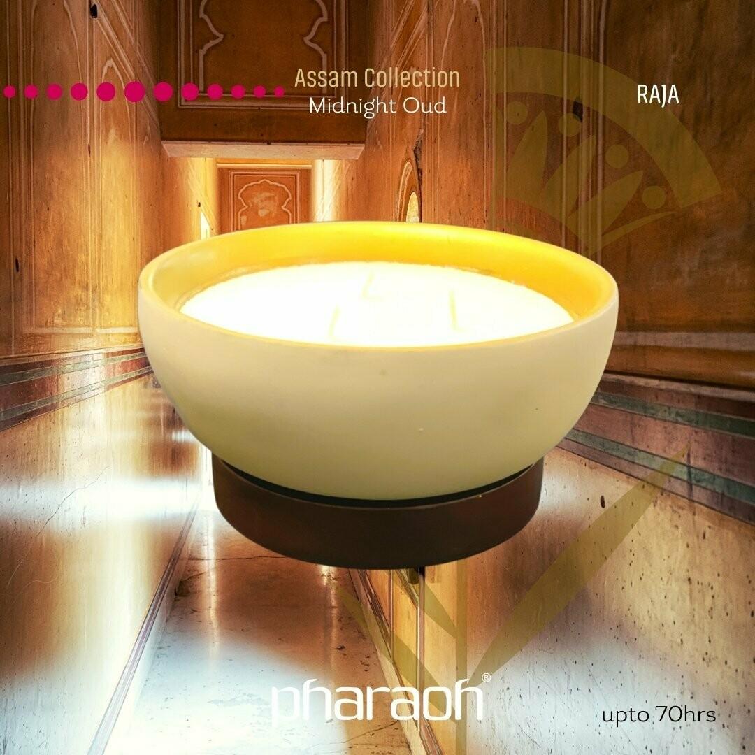 RAJA Assam Triple Wick Candle - Midnight Oud 300g