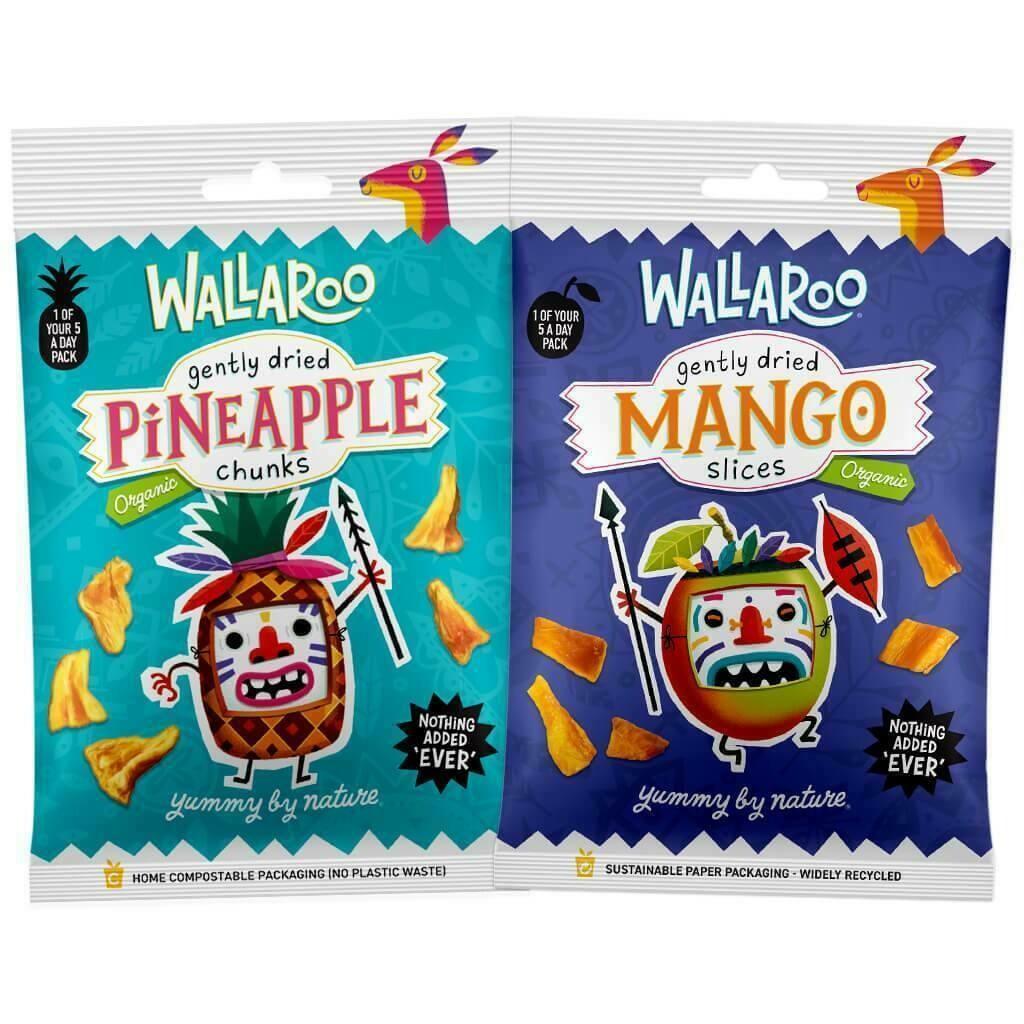 Organic Dried Mango & Pineapple Bundle