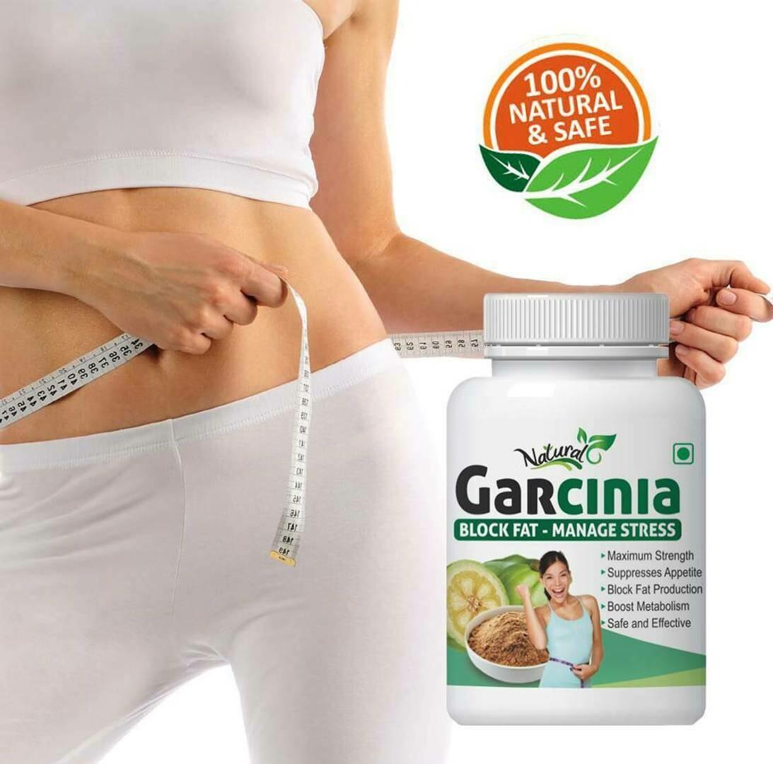 Garcinia Herabl Capsules For Burning Extra Fat 100% Ayurvedic (60