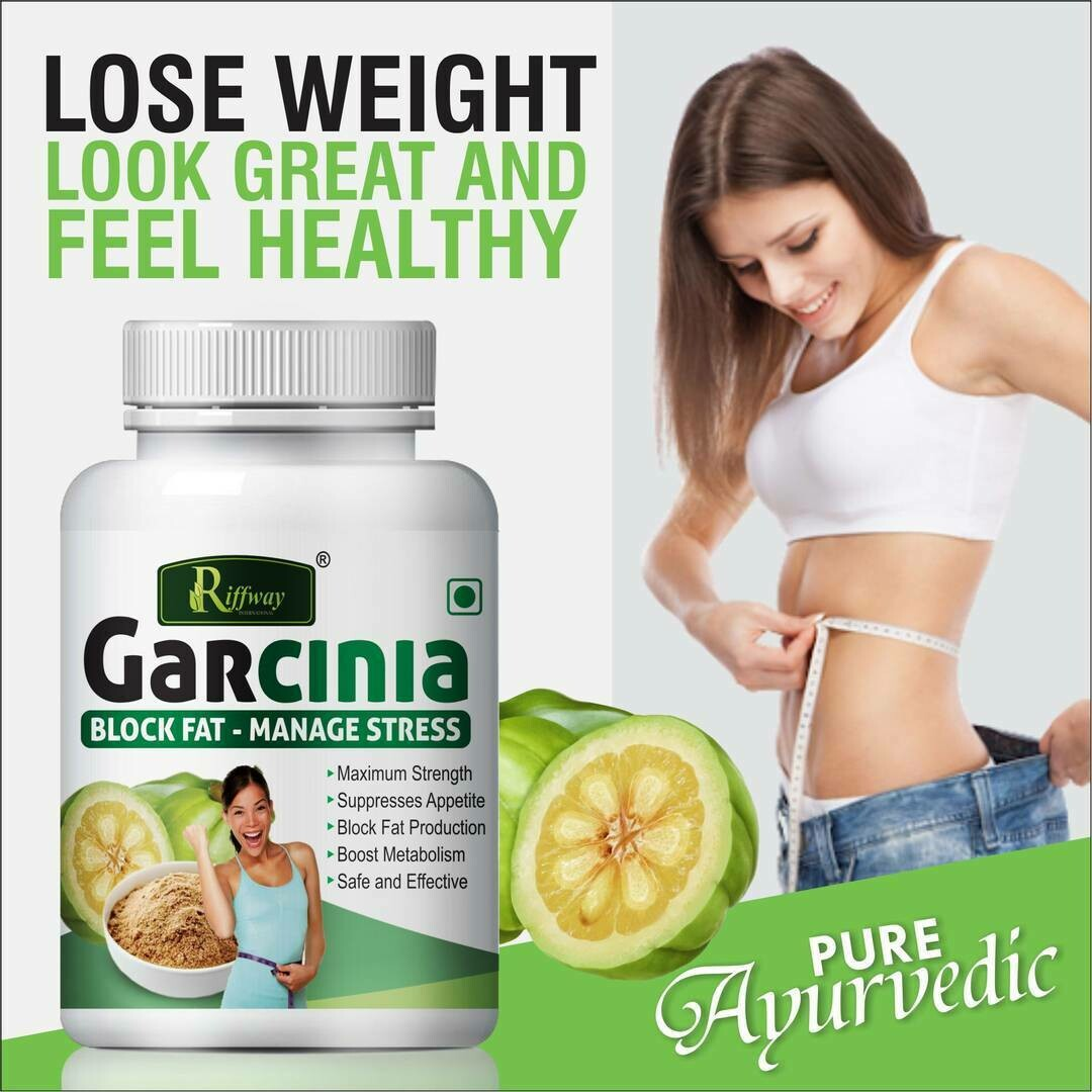 Garcinia Herbal Capsules For Weight Loss And Improve Metabolism 100%