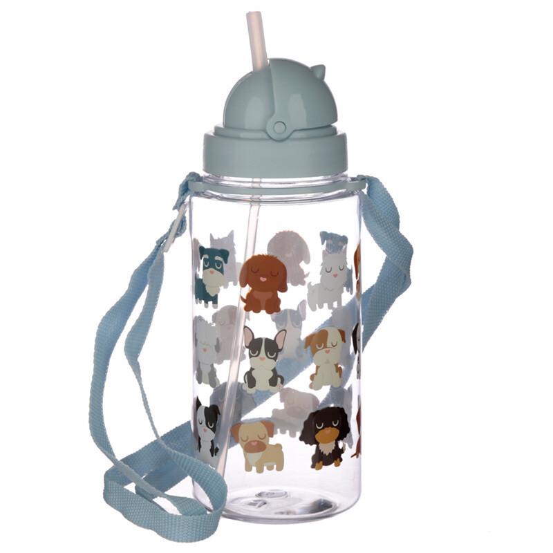 Fun Dog Squad Design 450ml Childrens Water Bottle