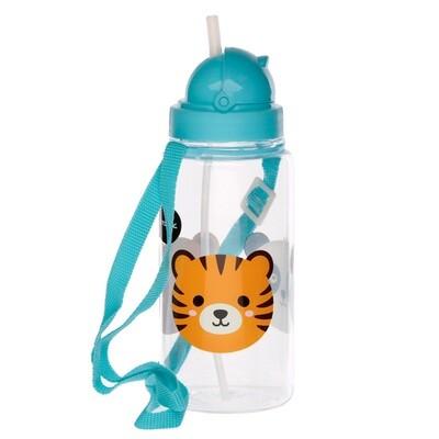 Fun Cutiemals Animal 450ml Childrens Water Bottle