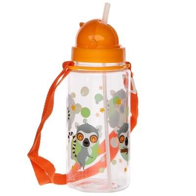 Fun Lemur Mob 450ml Childrens Water Bottle