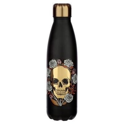 Skulls & Roses Stainless Steel Insulated Drinks Bottle
