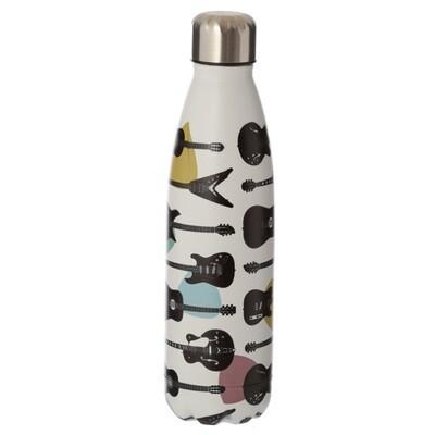 Guitar Headstock Stainless Steel Insulated Drinks Bottle