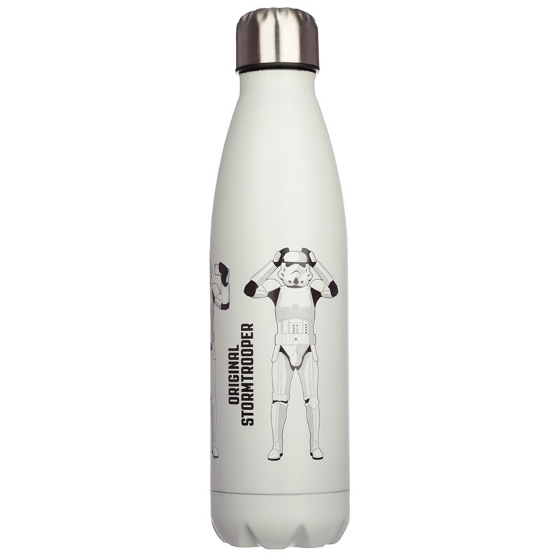 White The Original Stormtrooper Stainless Steel Insulated Drinks