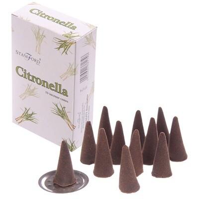 Stamford Hex Incense Cones - Citronella