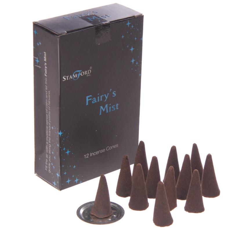 Stamford Black Incense Cones - Fairys Mist