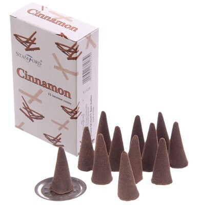 Stamford Hex Incense Cones - Cinnamon