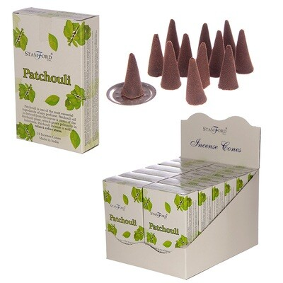 Stamford Hex Incense Cones - Patchouli