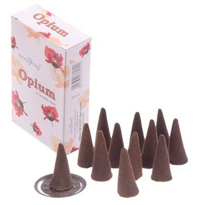 Stamford Hex Incense Cones - Opium