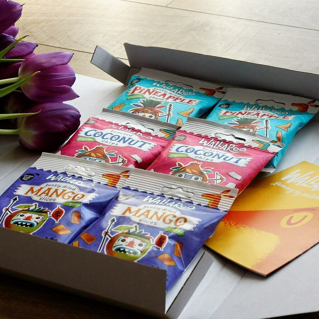 Organic Tropical Flavours Gift Box