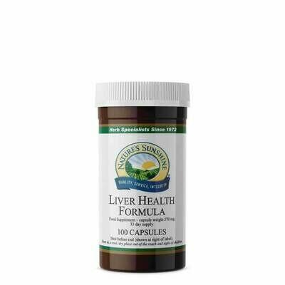 Liver Health Formula (100 Capsules)