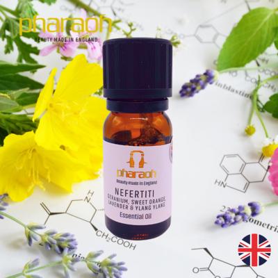 SPA Essentials NEFERTITI Essential Oil 10ml (Geranium Orange Lavender