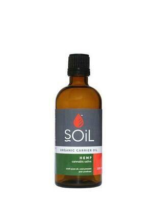 Organic Hemp Seed Oil (Cannabis Sativa) 100ml