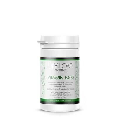 Vitamin E 400IU (30 Vegetable Capsules)