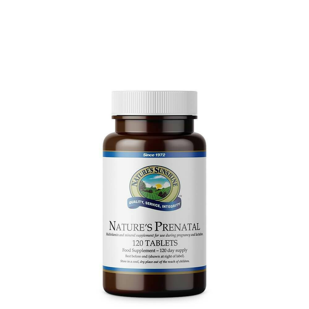 Nature's Prenatal (120 Tablets)