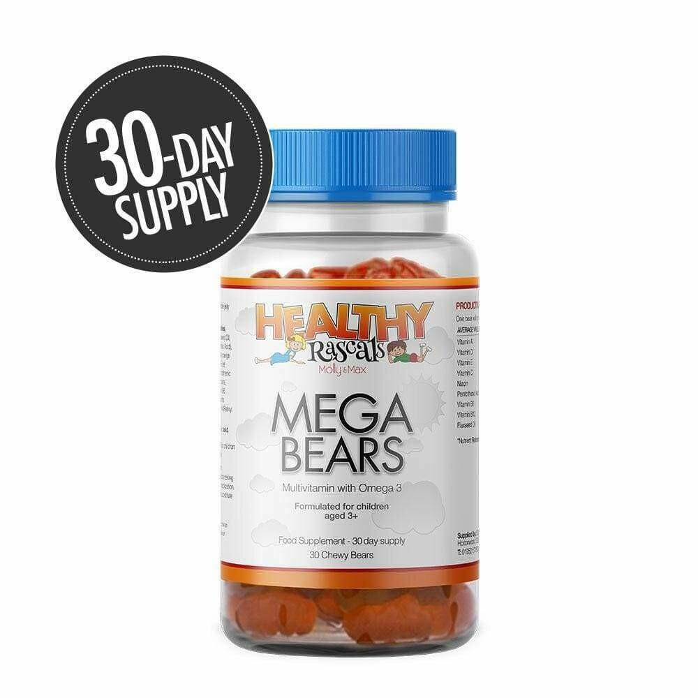 Mega Bears Gummies 30