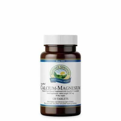 Calcium-Magnesium (120 Capsules)