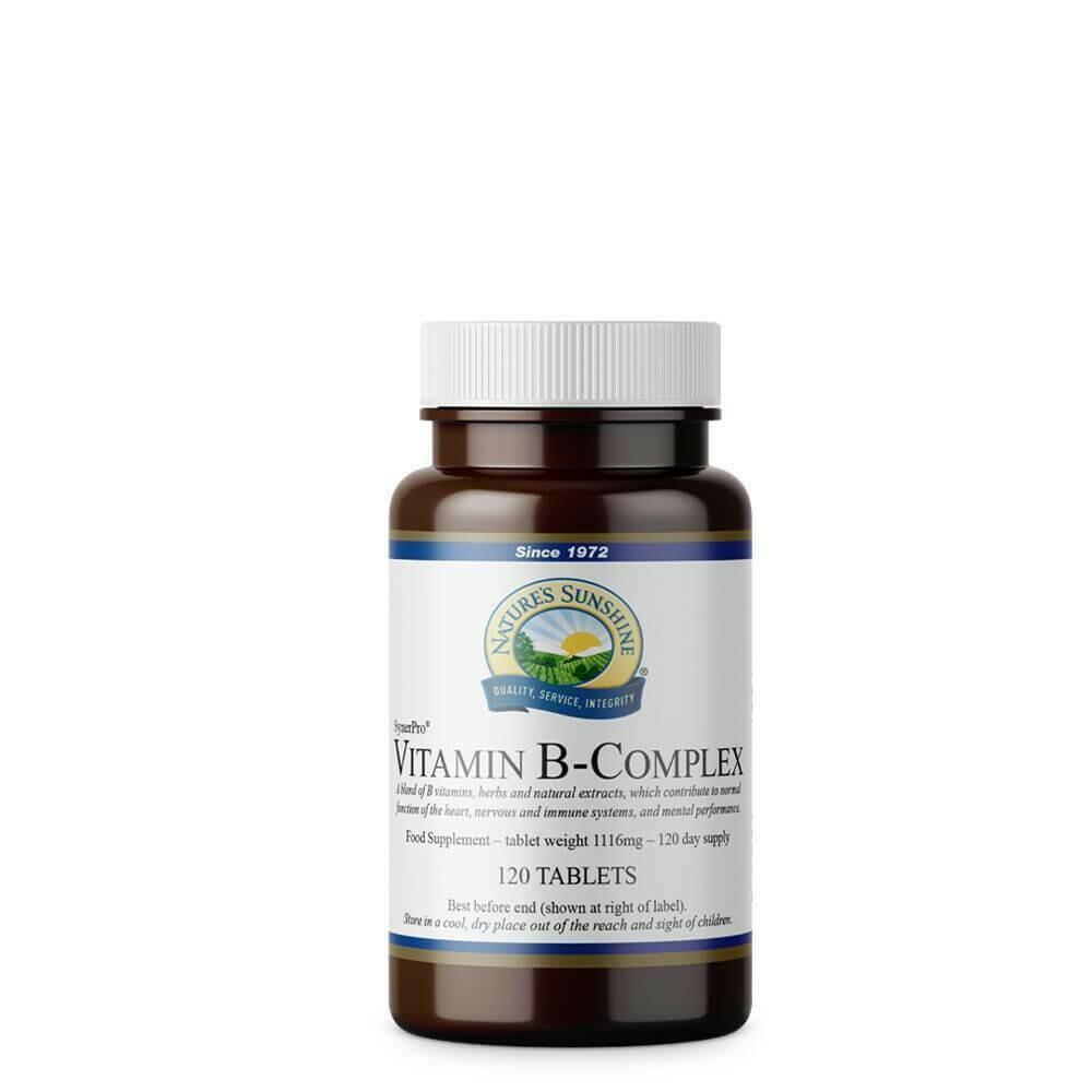 Vitamin B-Complex (120 Capsules)