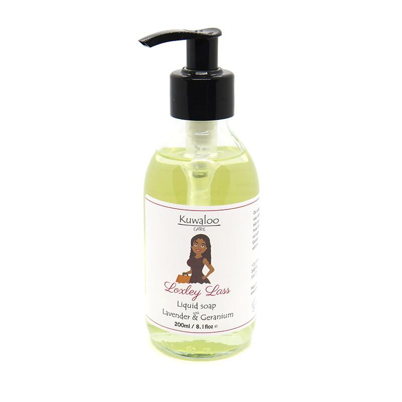 'Loxley Lass' Liquid Soap 200ml - Lavender & Geranium
