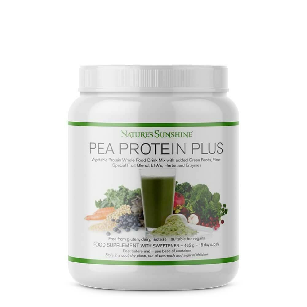 Vegan Pea Protein Plus Powder
