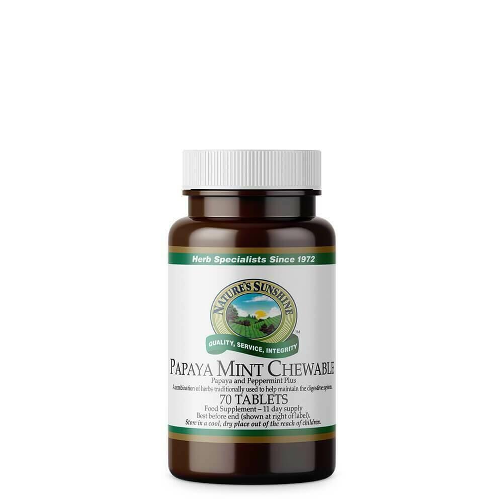 Papaya Mint Chewable (70 Tablets)
