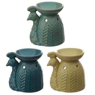Peacock Ceramic Ede Oil Burner