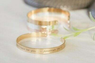For I Know the Plans I Have For You Bracelet,