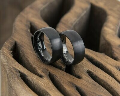 Black Titanium Ring
