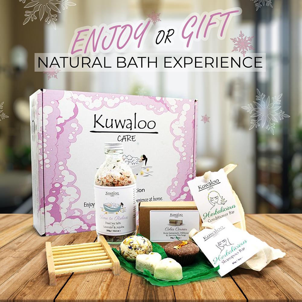Kuwaloo Bath Collection - 100% Natural & Zero Waste