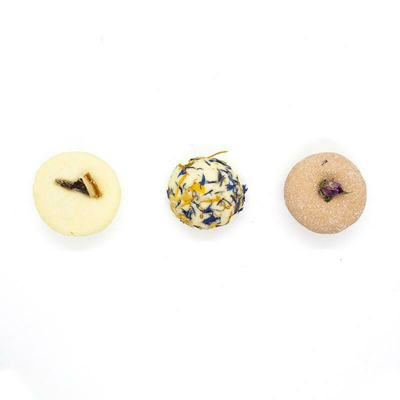 100% Natural Bath Truffles - Pack of 3