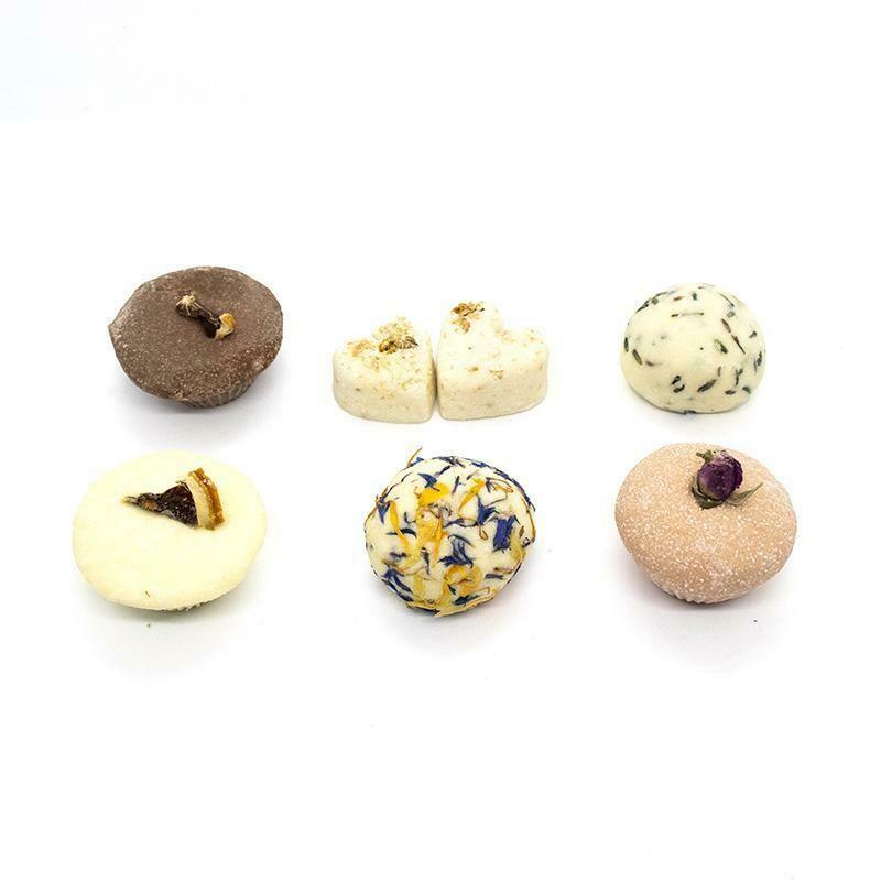 100% Natural Bath Truffles - Pack of 6