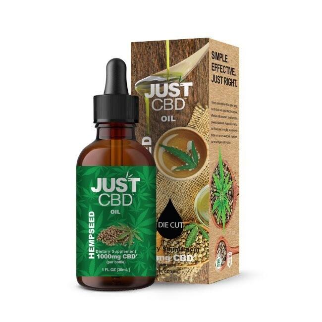 Just CBD Hemp Seed Oil 50mg CBD 30ml