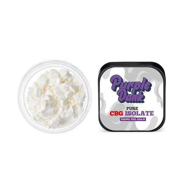 Purple Dank 1000mg Pure CBG Isolate 1g