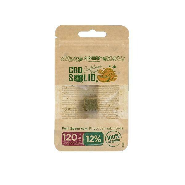 Euphoria CBD Solid Hash 1g Cantaloupe Haze 12%