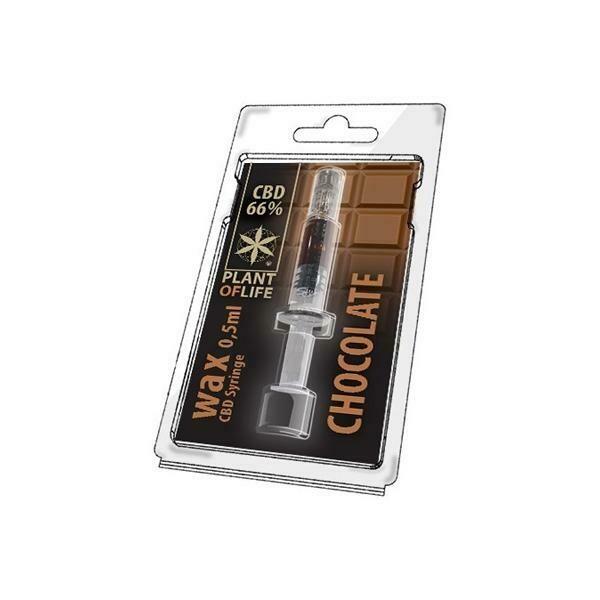 CBD Wax 0.5G Chocolate 66%