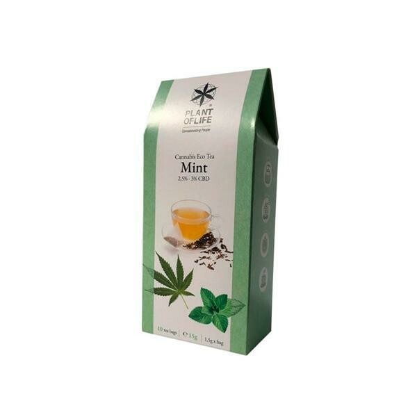 Plant Of Life Infusion 3% CBD Tea - Mint